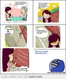 Khi con gái HẬN Tình =))