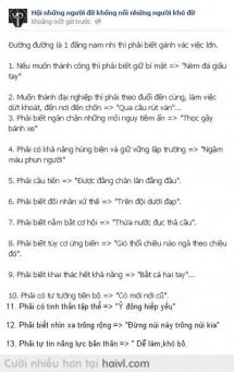 13 phương châm sống của Thanh niên 9bua.com=)).