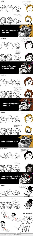 Khi học sinh troll =))