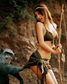 Đồ con khỉ :v