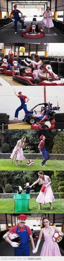 Super Mario chân thực và sống động :D