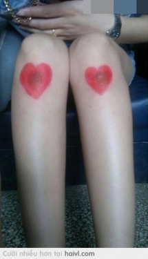2 trái tim đẹp thế :))