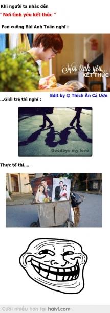 Nơi tình yêu kết thúc ...:))