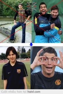 Messi thời ....... ( Xin lỗi vì đã gạch bài của bạn !)
