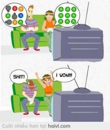 Khi tui cùng bạn gái chơi game :))