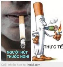 Khi bạn hút thuốc