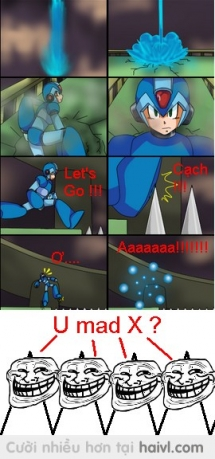 Cái chết rất tếu của Megaman :v
