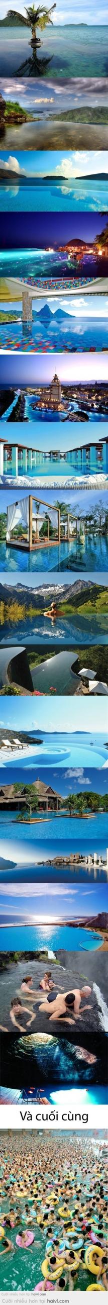 Những Cảnh Bơi Lội Đẹp Nhất Thế Giới ! :v