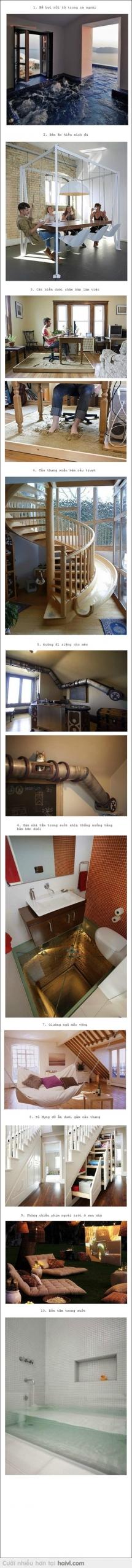 """20 ý tưởng thiết kế ngôi nhà """"trong mơ"""" P1"""