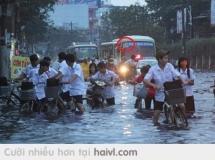 Lụt ở SÀI GÒN :))